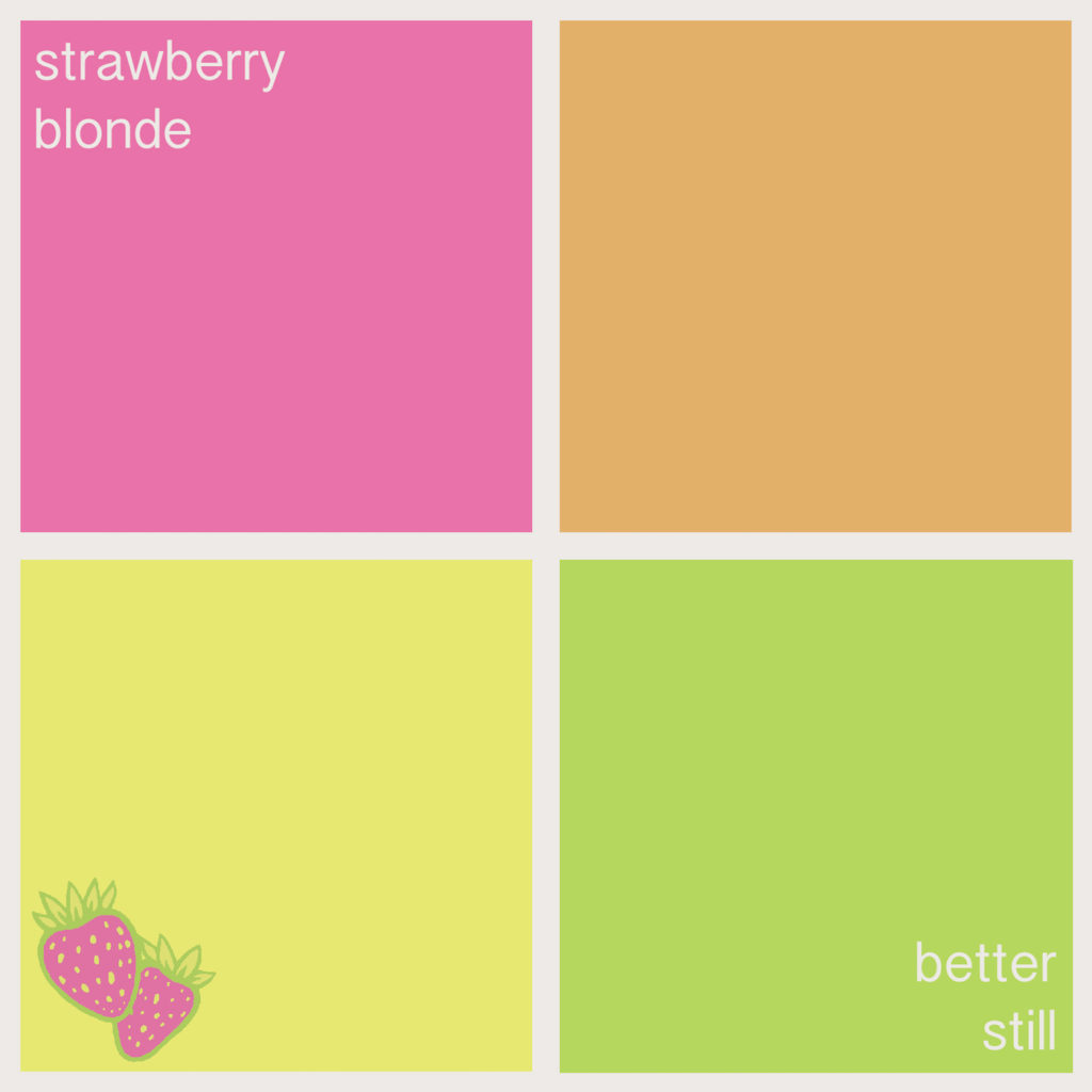 Strawberry Blonde – Better Still